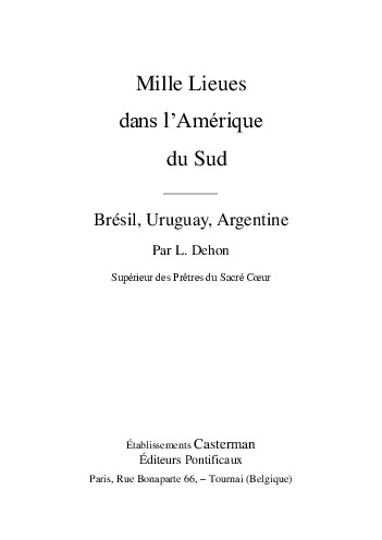 Dehondocs Larchivio Degli Scritti Di Léon Dehon